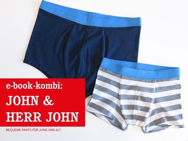 Produktfoto 1 von STUDIO SCHNITTREIF zum Nähen für Schnittmuster HERR JOHN & JOHN  Pants im Partnerlook