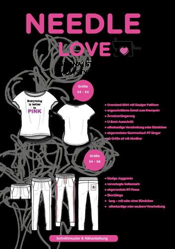 Produktfoto 1 von {NEEDLE LOVE} zum Nähen für Schnittmuster BRIANA und MEA