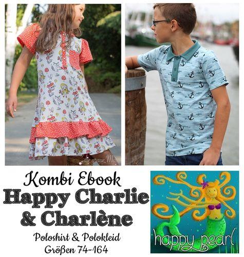 Produktfoto 1 von Happy Pearl zum Nähen für Schnittmuster Happy Charlie + Charlène