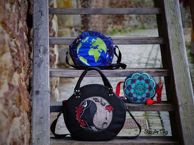 Produktfoto 1 von LaLilly Herzileien zum Nähen für Schnittmuster Circlebags Rondabel & Rondabelita