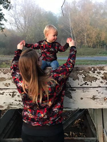 Produktfoto 1 von Nähcram zum Nähen für Schnittmuster Mama/Kind-Kombi: MissLässig und Lara&Lars