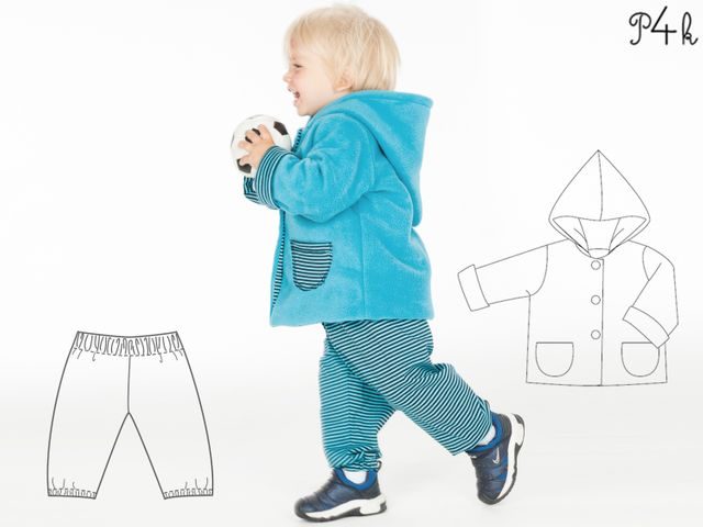 Produktfoto 1 von Pattern 4 kids zum Nähen für Schnittmuster Torino und Toretto