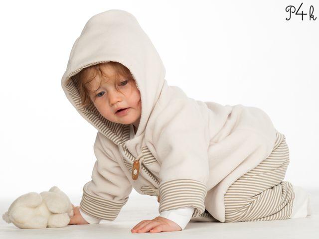 Produktfoto 1 von Pattern 4 kids zum Nähen für Schnittmuster Brio und Lucca Baby Hose und Jacke als Set