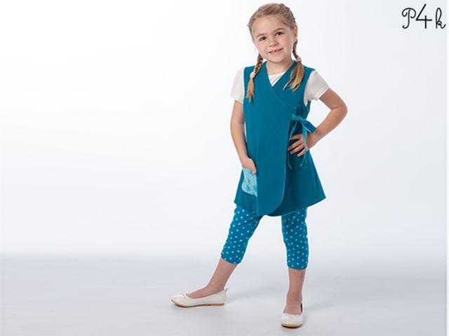 Produktfoto 1 von Pattern 4 kids zum Nähen für Schnittmuster Marie und Bibi, Leggings und Tunika im Set