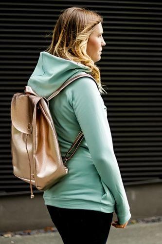 Sweater Kuschelwarm & Rucksack Easy Day Bag für Damen Kombi Ebook