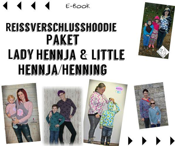 Produktfoto 1 von Mamili1910 zum Nähen für Schnittmuster  Paket Lady Hennja & Little Henning/Hennja