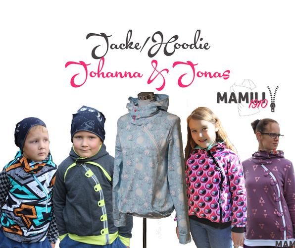 Produktfoto 1 von Mamili1910 zum Nähen für Schnittmuster Kombi-EBook Lady Johanna & Little Johanna/Jonas