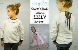 Foto zu Schnittmuster Shirt/Kleid mini Lilly von drei eMs