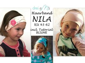 Foto zu Schnittmuster Haarband Nila von drei eMs