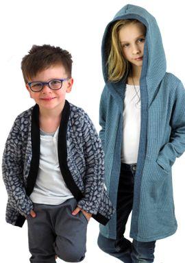 Foto zu Schnittmuster Strickjacke Minna Kinder von Fadenkäfer