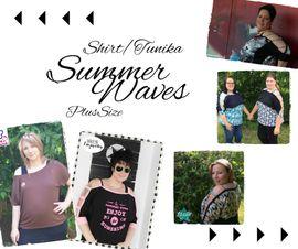 Foto zu Schnittmuster Shirt/Tunika SummerWaves Plus Size von Mamili1910
