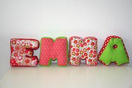 Foto zu Schnittmuster Buchstabenkissen von COSY_things