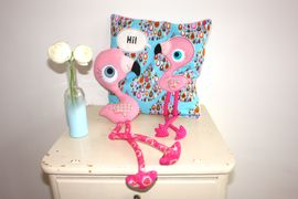 Foto zu Schnittmuster Flamingo-Mädchen Lulu von COSY_things