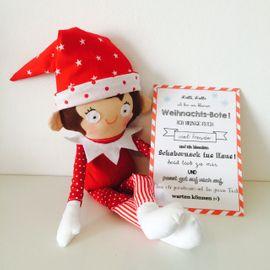 Foto zu Schnittmuster Kleiner Weihnachts-Bote von COSY_things