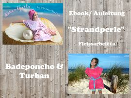 Foto zu Schnittmuster Badeponcho & Turban Strandperle von Fleissarbeit1a