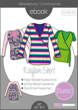 Foto zu Schnittmuster Basic Raglan-Shirt von ki-ba-doo