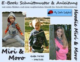 Foto zu Schnittmuster Hoodie Miri & Moro von My Little Ladybird