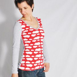 Foto zu Schnittmuster Shirt Nr. 1 von Leni Pepunkt