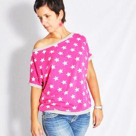 Foto zu Schnittmuster Shirt kalte Schulter von Leni Pepunkt