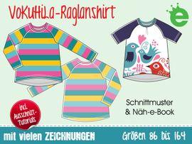 Foto zu Schnittmuster VoKuHiLa-Raglanshirt von Erbsenprinzessin