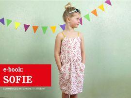 Produktfoto zu Kombi Ebook FRAU SOFIE & SOFIE  Trägerkleider im Partnerlook von Anja // STUDIO SCHNITTREIF