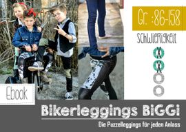 Foto zu Schnittmuster Bikerleggings Biggi Kids von FeeFee