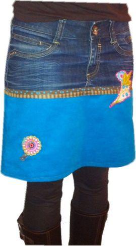 Foto zu Schnittmuster Rock Jeans + Schere von kleinerspatz