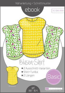 Foto zu Schnittmuster Basic Blusen-Shirt von ki-ba-doo