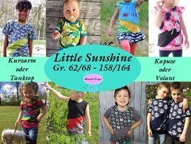 Foto zu Schnittmuster Shirt Little Sunshine von Mamilu Design