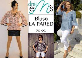 Foto zu Schnittmuster Bluse La Pared von drei eMs