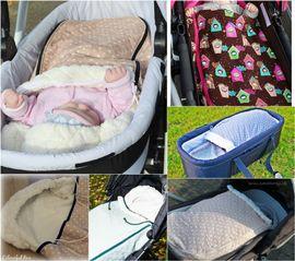 Foto zu Schnittmuster Kinderwagenfußsack Wetterwarm von Fräulein An