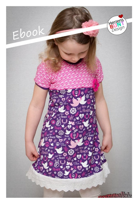 Foto zu Schnittmuster Jerseykleid Zuckerschnecke von Herzensbunt Design