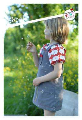 Foto zu Schnittmuster Trägerkleid Ringelreih von Herzensbunt Design