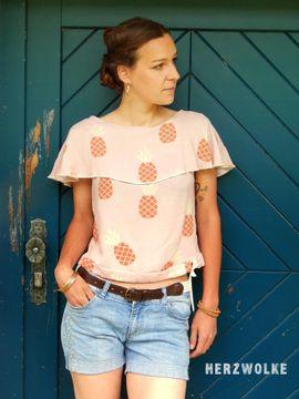 Foto zu Schnittmuster Bluse/Shirt Madrid von Die wilde Matrossel
