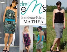 Foto zu Schnittmuster Bandeau-Kleid Mathea von drei eMs