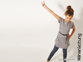 Foto zu Schnittmuster SOMMER.bluse4Teenies von Leni Pepunkt