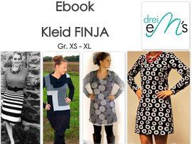 Foto zu Schnittmuster Kleid Finja von drei eMs