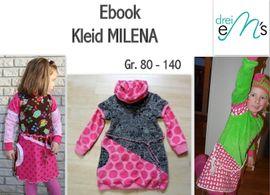 Foto zu Schnittmuster Kleid Milena von drei eMs