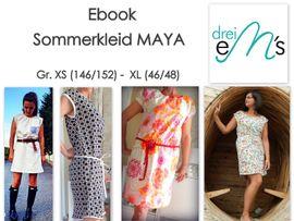 Foto zu Schnittmuster Sommerkleid Maya von drei eMs