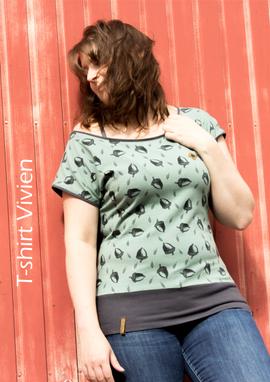 Foto zu Schnittmuster T-Shirt Vivien von einfach anziehend