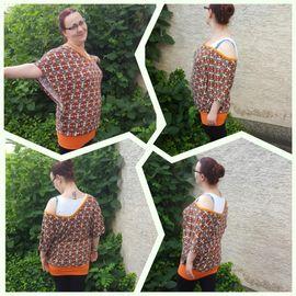 Foto zu Schnittmuster Oversize Shirt Sanne von JaJuMi-Handmade