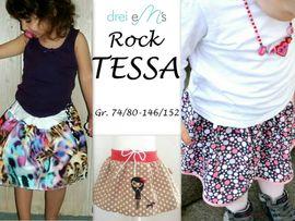 Foto zu Schnittmuster Rock Tessa von drei eMs