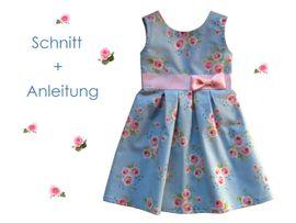 Foto zu Schnittmuster Blumenmädchen-Kleid von Lunicum