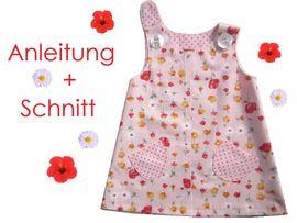 Foto zu Schnittmuster Hänge-Kleid für Kleinkinder von Lunicum