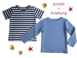 Foto zu Schnittmuster Kinder T-Shirt von Lunicum