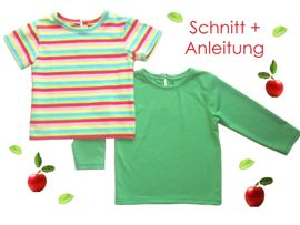 Foto zu Schnittmuster Baby + Kleinkinder T-Shirt von Lunicum