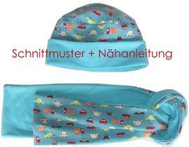 Foto zu Schnittmuster 4-Varianten-Mütze + Schal von Lunicum