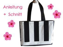 Foto zu Schnittmuster Shopper oder Strandtasche von Lunicum