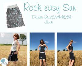Foto zu Schnittmuster Rock easy Sun von 3fachFrein