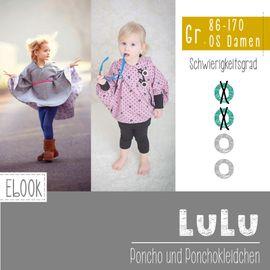 Foto zu Schnittmuster Poncho/Ponchokleid Lulu von FeeFee